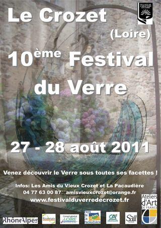 AFFICHE 2011 Le Crozet